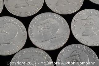 23 - Esienhowser Liberty Bi-Centenial Dollars 1776-1976