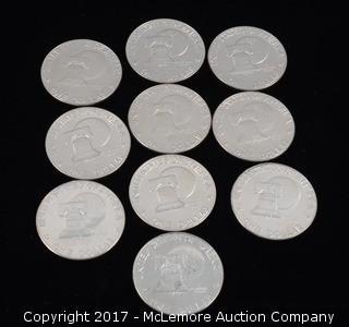 10 - Esienhowser Liberty Bi-Centenial Dollars 1776-1976