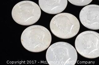 17 - Kennedy Liberty 1964 Half Dollars