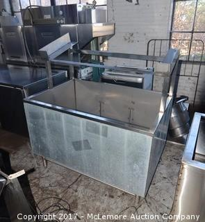 Stainless Steel Commercial Chiller/Ice Bin