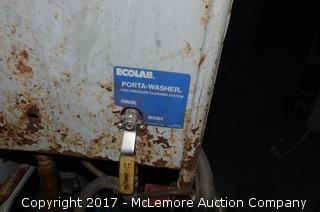 Ecolab Porta Washer Electrtic Power Washer