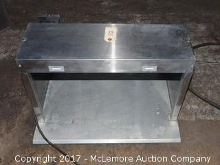 Merco Single Shelf Food Warmer/Merchadiser