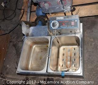 Commercial Pro Electric Deep Fryer