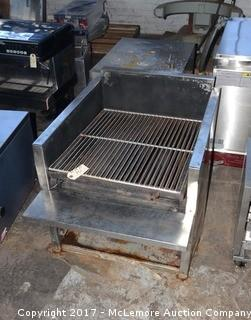Stainless Steel Countertop Gas Grill