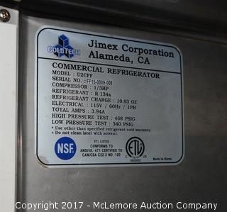 Coldtech Commercial Undercounter Refrigerator