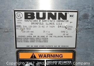 Bunn Dual Burner Coffee Machine