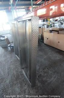 Custom Built Diamond Steel Heated Expo Hood