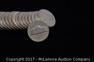 44 - 1949 Jefferson Nickels