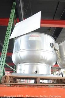 Captiveaire Commercial Upblast Exhaust Fan