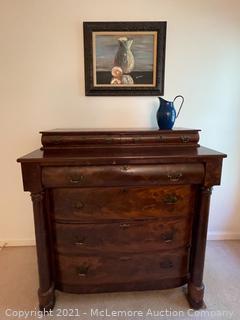 Antique American Empire Dresser
