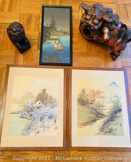 Vintage Oriental Art Collection #2