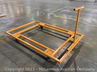 Metal Frame Cart On Casters