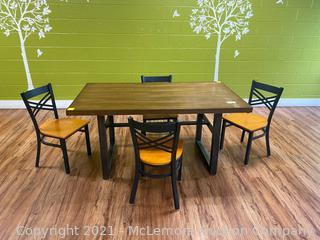 Table & (x4) Chairs