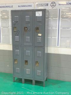Metal Lockers (x6)Unit