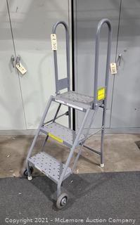 Rolling Warehouse Ladder