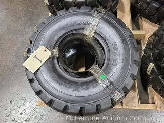 Pair of Maxam MS801 Forklift Tires