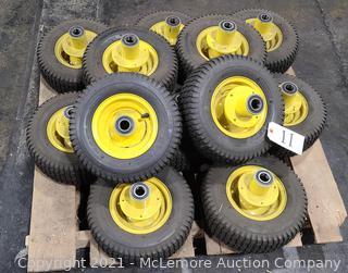(10) Kenda K358-207 Lawnmower Tires with Rims