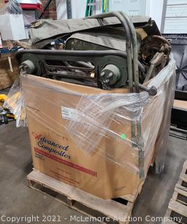 Parts to an M151 Jeep