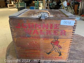 Johnnie Walker 1956 Crate.  Nice!