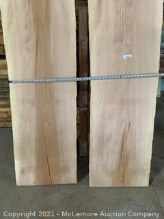 2 Super Nice Wide 4/4 Sycamore Boards