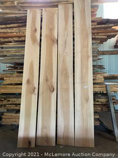 4 Super Nice Wide Sycamore Boards