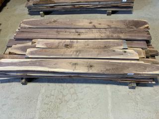 135 Board Feet of 4/4 Walnut