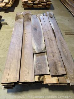 125 Board Feet of 4/4 Walnut