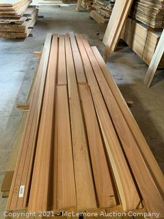287 Lineal Feet of Clear Cherry