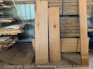 2 Wide 8/4 Red Oak Boards