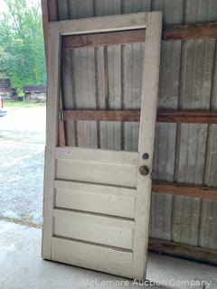 Antique 3ft Door