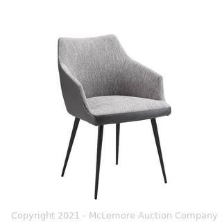 Verena Upholstered Dining Chair by Union Rustic - Gray - 31.5'' H x 21.5'' W x 22'' D - NEW - $340.50 - SEE LINK