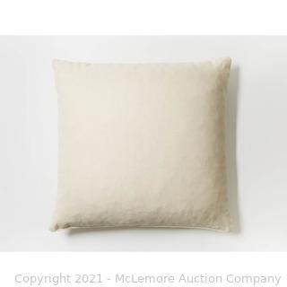 "Coyuchi Organic shredded Dunlop Latex Medium Support Pillow - 22"" x 22"" - NEW - SEE LINK!"