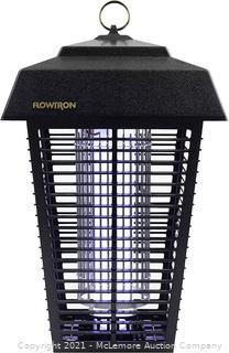 Flowtron BK-80D 80-Watt Electronic Insect Killer. 1-1/2 Acre Coverage . Black