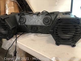 BOSS Audio Systems ATV30BRGB Off Road/ Marine Sound System. ATV Soundbar.