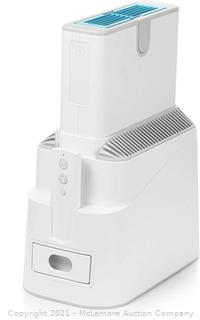 Celios G200 Advanced Air Purifier - removes up to 99.99999% of particles and filters ultrafine particulates down to 10 nanometers - 3.000x more efficient than HEPA filters standards - captures odors. gases. VOCs. viruses and bacteria.