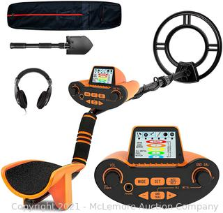 SUNPOW Professional Metal Detector for Adults. Adjustable Ground Balance. Disc & Notch & Pinpoint Modes. Upgraded DSP Chip. Multiple Audio Prompts