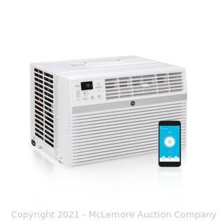 8. 000 BTU 115-Volt Smart Window Air Conditioner with Remote in White