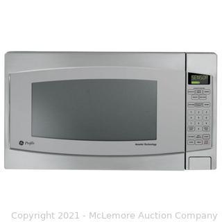 GE Profile 2.2-cu ft 1200-Watt Countertop Microwave (Stainless Steel)