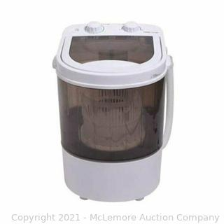 Mini Washing Machine For Shoes and Pet Supplies Compact Size Parts Unverified