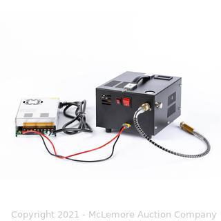 12v portable mini pcp electric compressor 300 bar with XT60 plug for diving tank below 1L