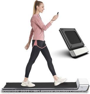 WalkingPad Folding Treadmill. Ultra Slim Foldable Treadmill Smart Fold Walking Pad Portable Safety Non Holder Gym and Running Device P1 Grey 0.5-3.72MPH