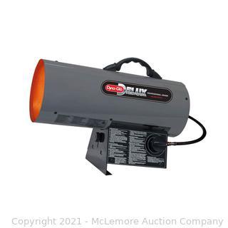 Dyna-Glo Delux 120K-150K BTU Forced Air Propane Portable Heater