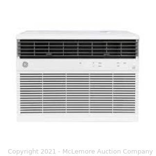 GE 18.000/17.600 230/208-Volt BTU Smart Window Air Conditioner with WiFi and Remote in White. ENERGY STAR