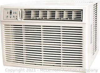 KEYSTONE 25.000/24.700 Capability 25.000 230V Window Wall Air Conditioner   16.000 BTU Supplemental Heating   Sleep Mode   24H Timer   Auto-Restart   AC for Rooms up to 1500 Sq. Ft   KSTHW25A. White