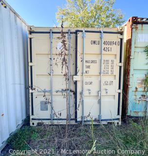 40' One Trip Shipping Container