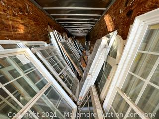 Large Quantity of Windows and Doors - Stored in Lot 810