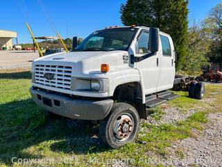 2008 Chevrolet C5500 4x4 Cab and Chassis - 1GBE5E3918F417722