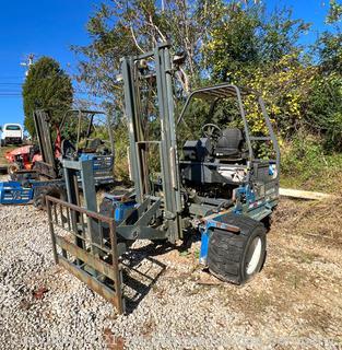 2007 Princeton PBX Truck Mounted Forklift - Damaged Rear Wheel
