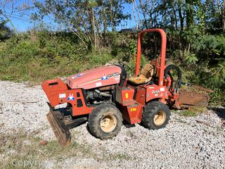 2007 Ditch Witch RT40 Trencher
