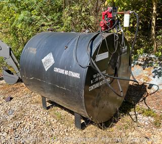 500 Gallon Fuel Tank with Fill-Rite 900 Series Meter and 20 GPM Pump